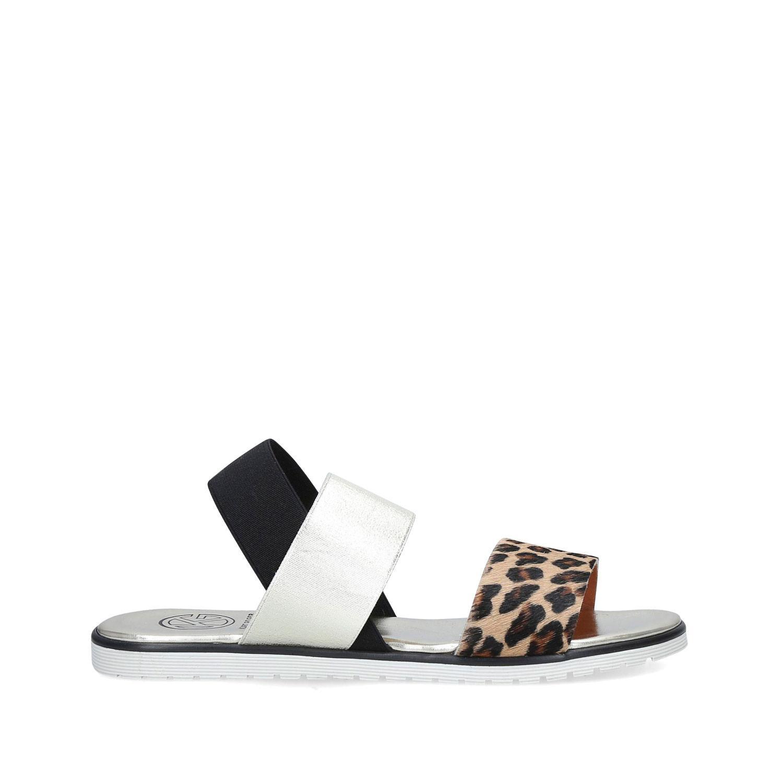 Rafi Leopard Print Sandals