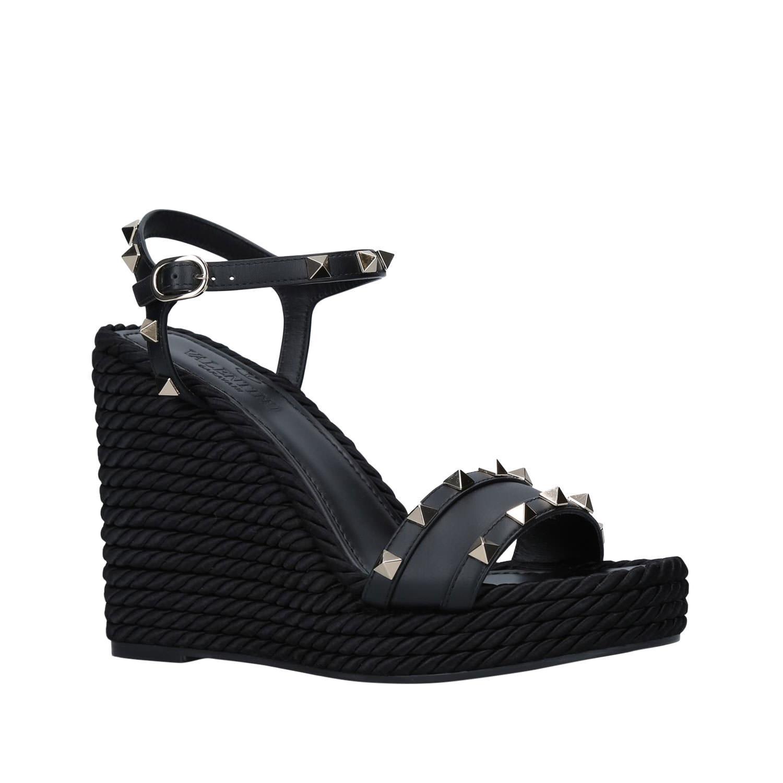 Rockstud Wedge Sandals 115