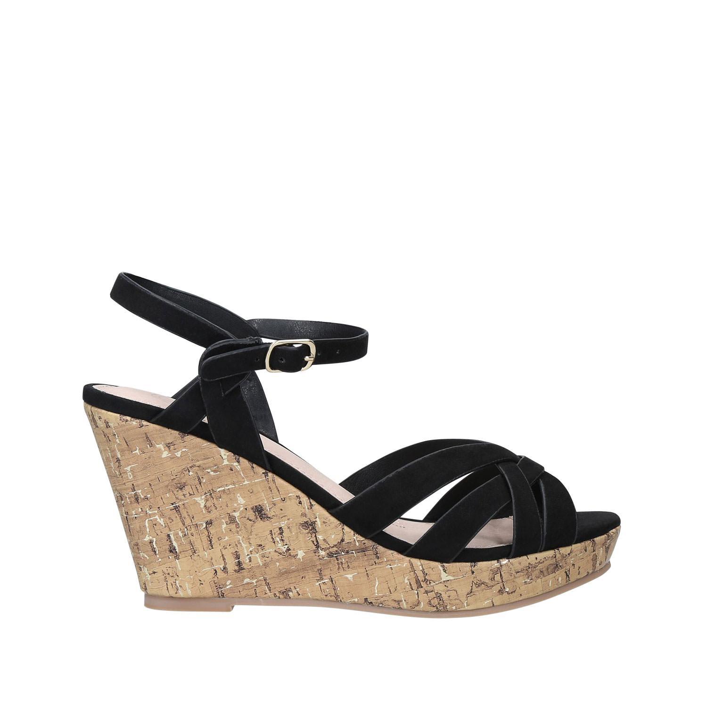 Parisian Cork Wedge Sandals