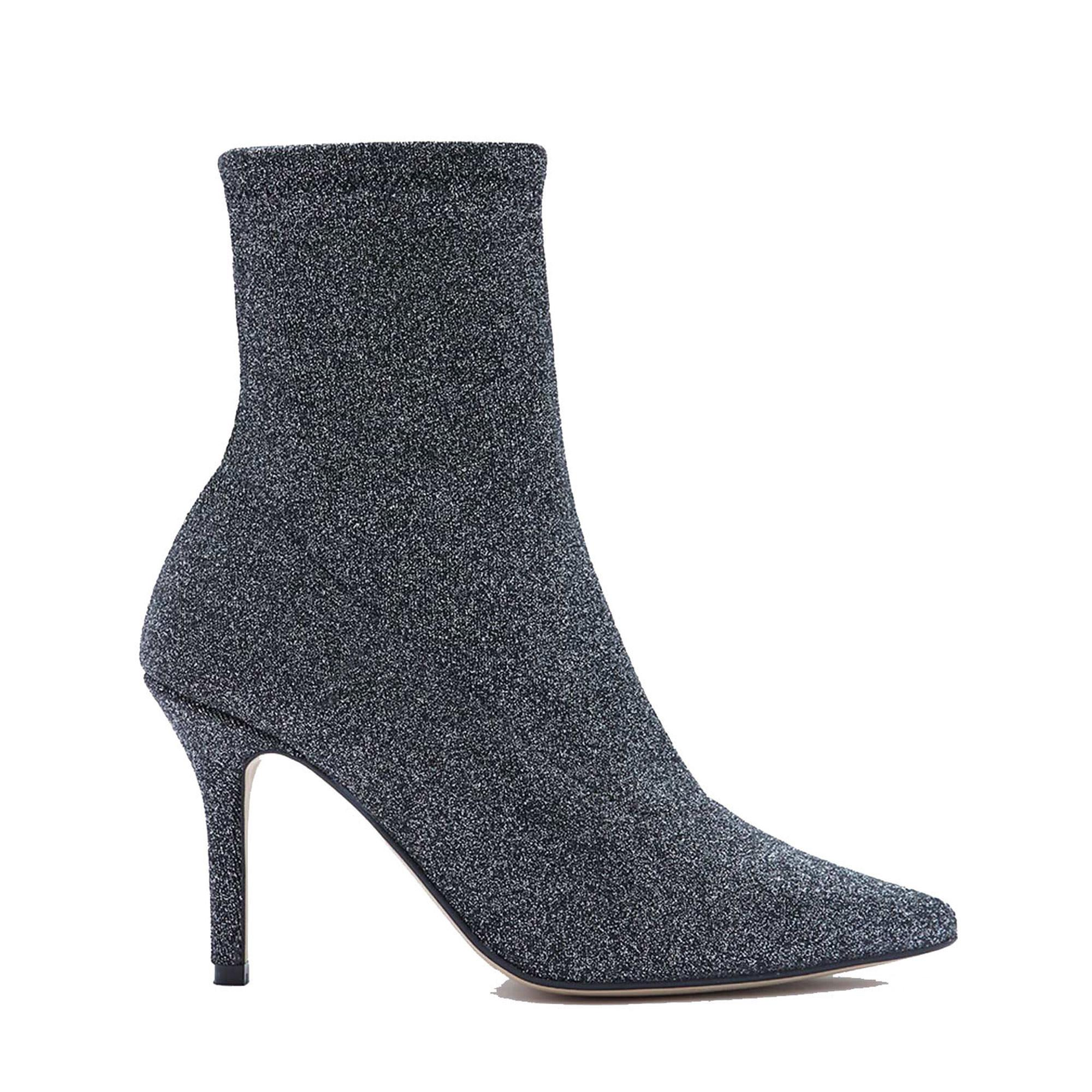 Venus Metallic Sock Boots