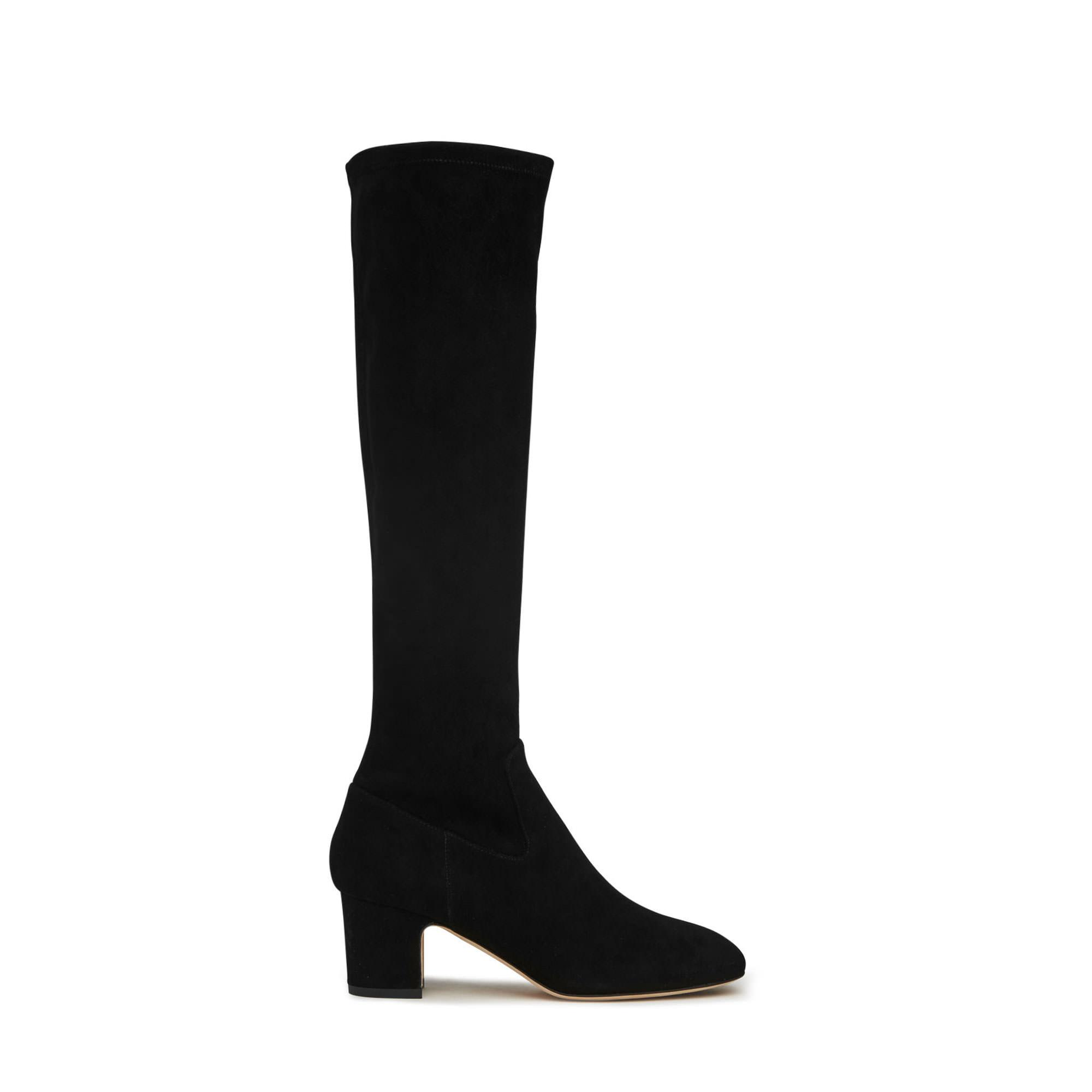 Kiran Stretch Suede Knee Boot