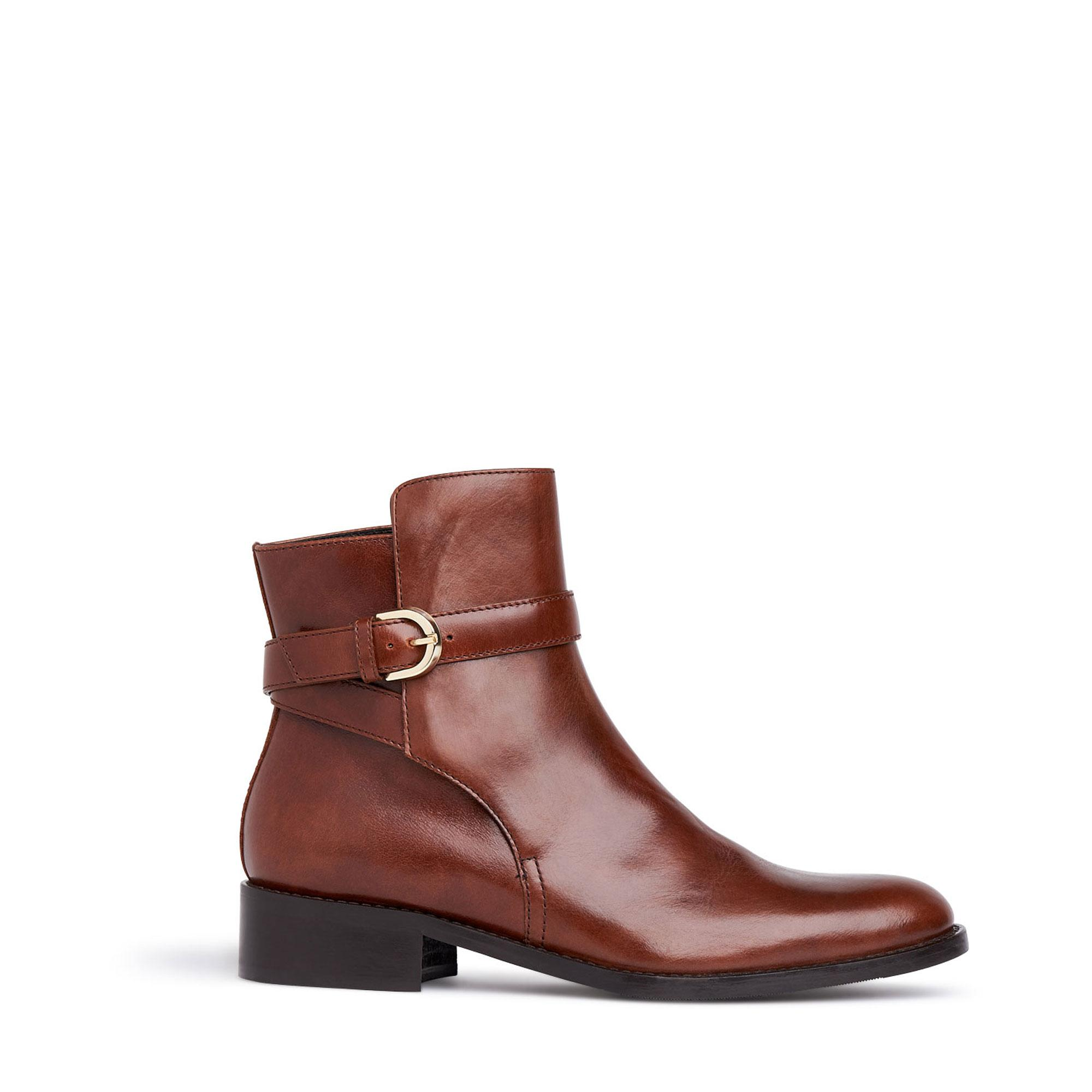 Annie Buckle Ankle Boots