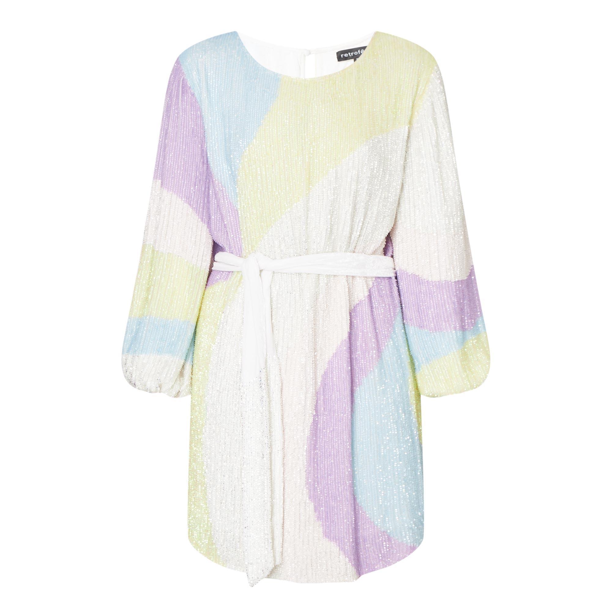 Grace Swirl Mini Dress