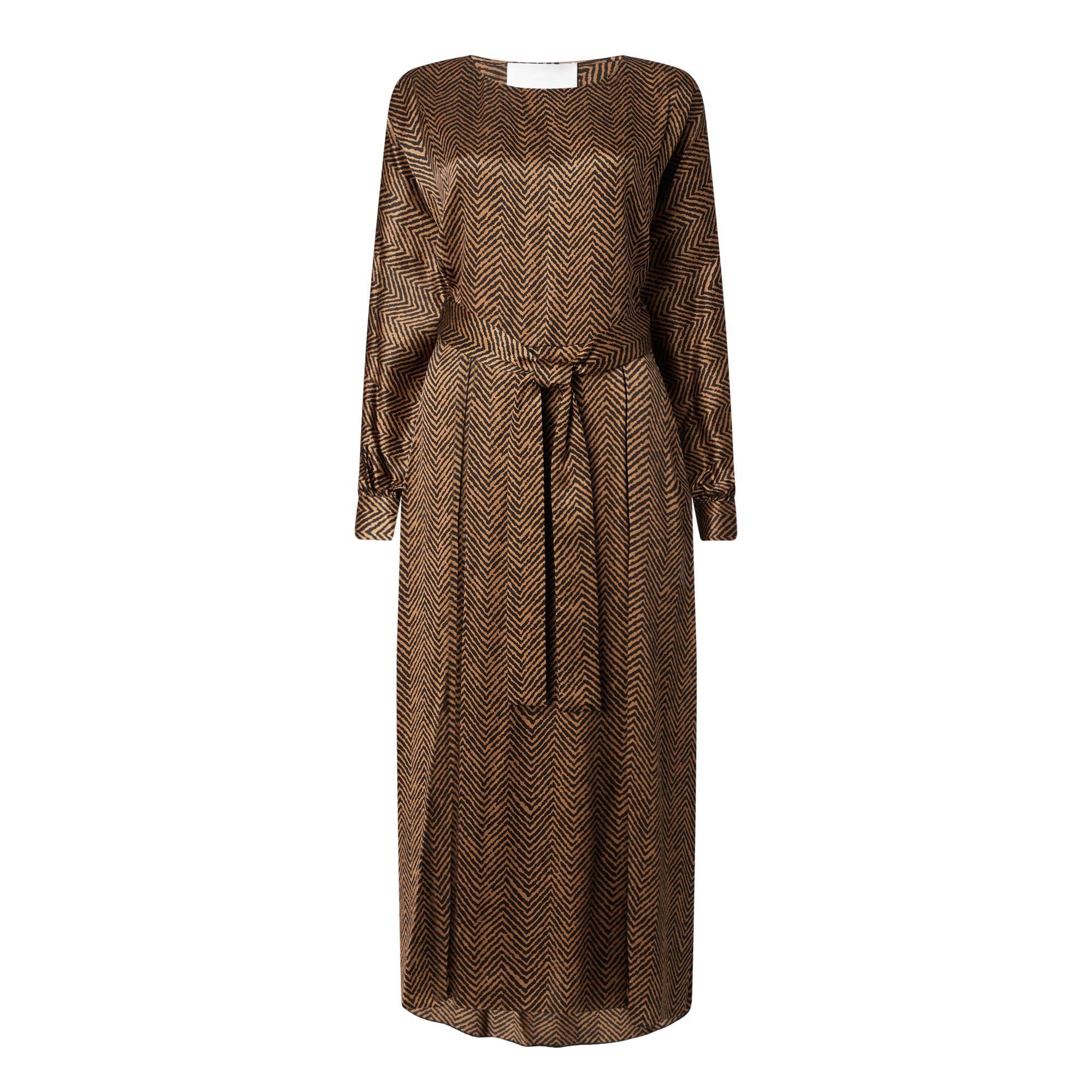 Dajuly Herringbone Midi Dress
