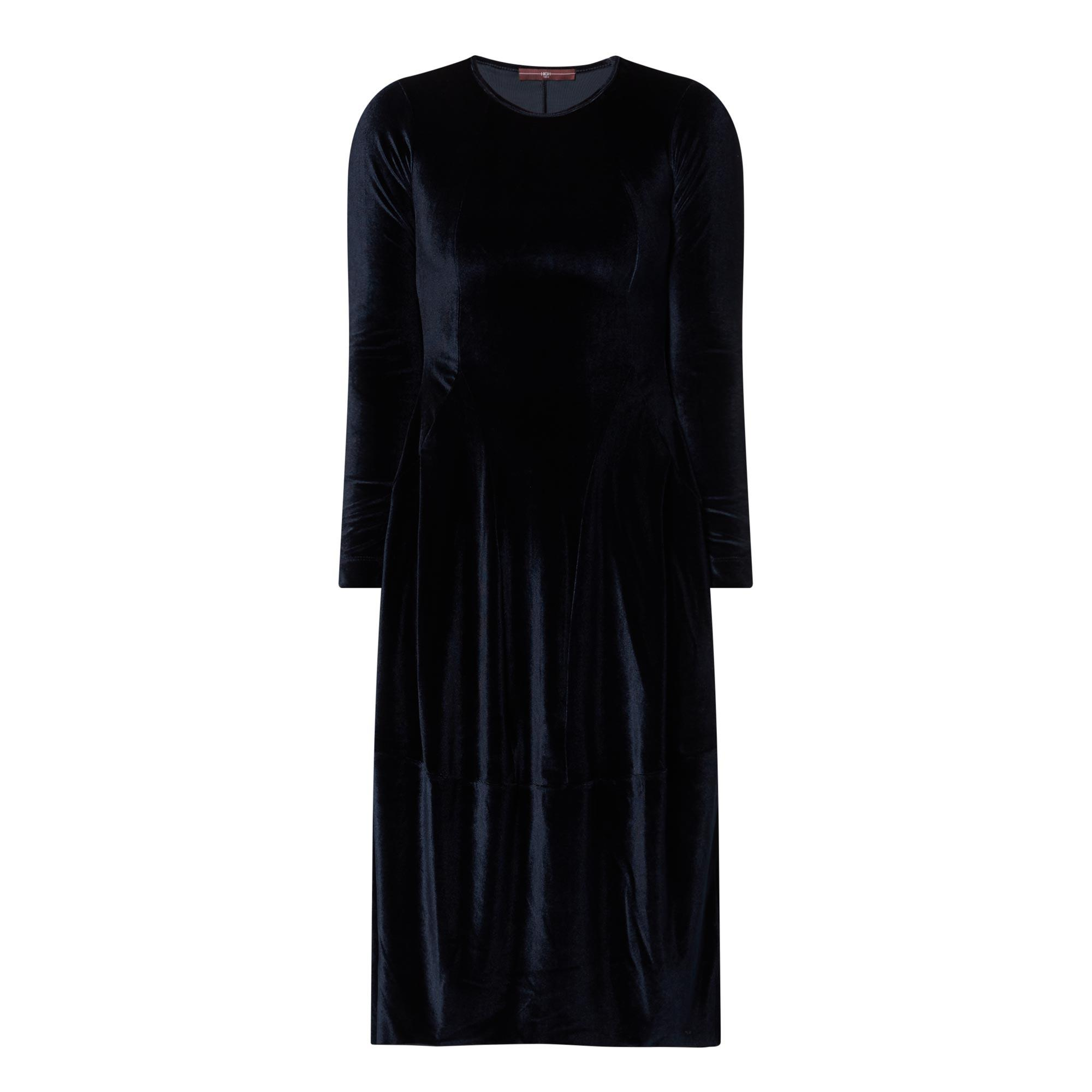 At Length Velvet Dress