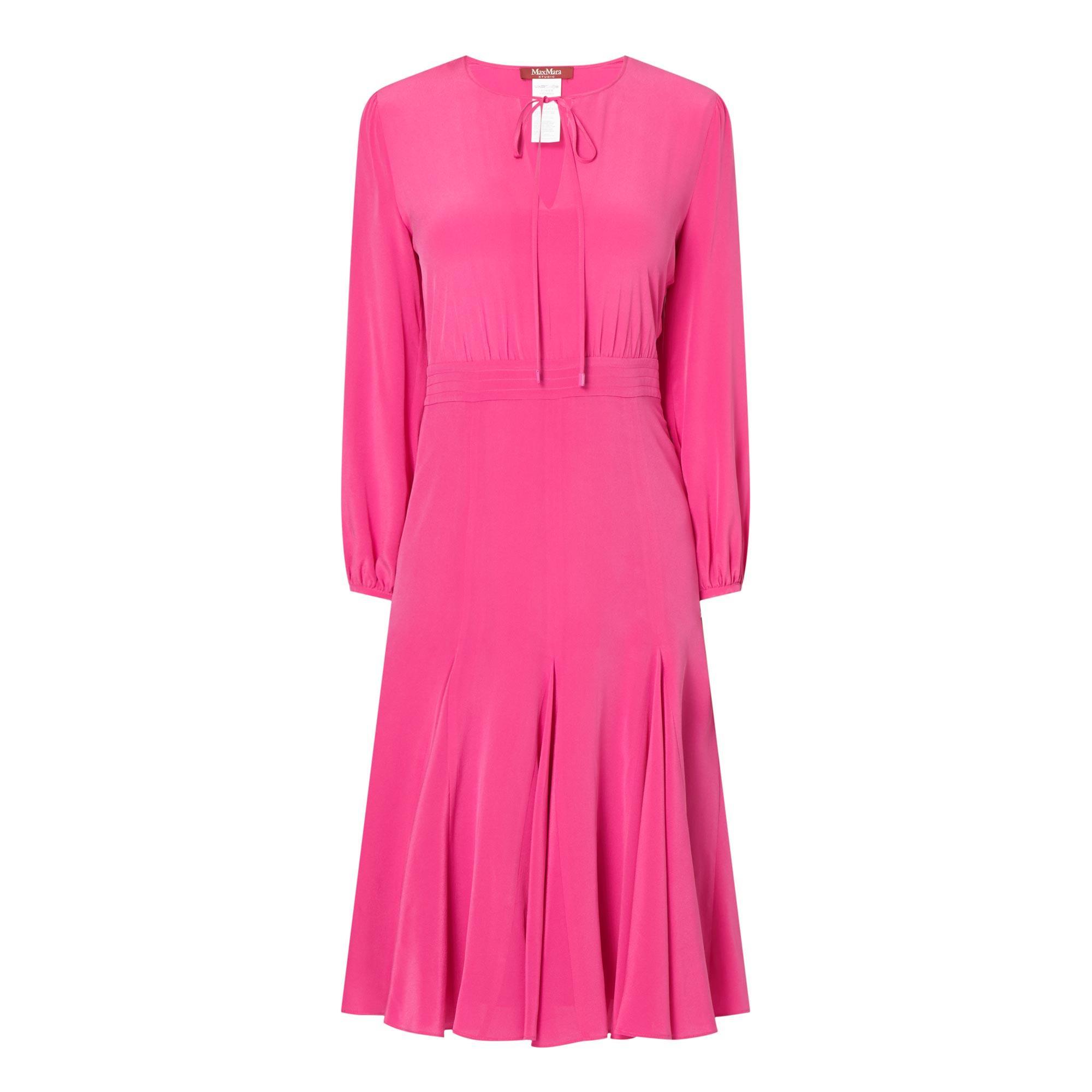 Golia Flounce Midi Dress