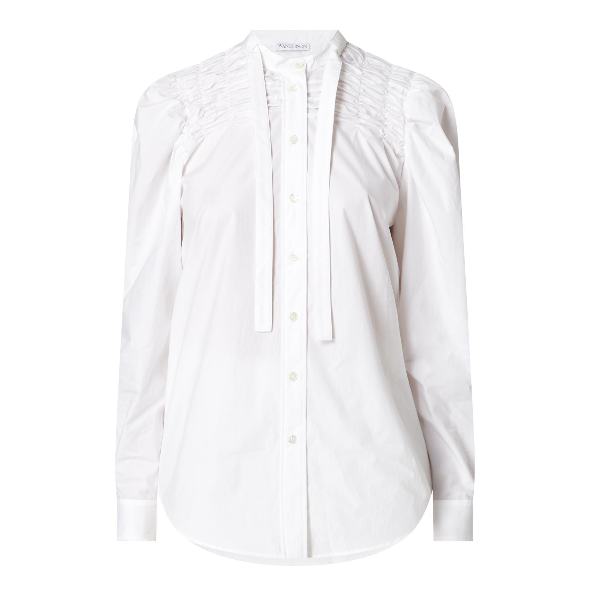 Smocked Yoke Shirt