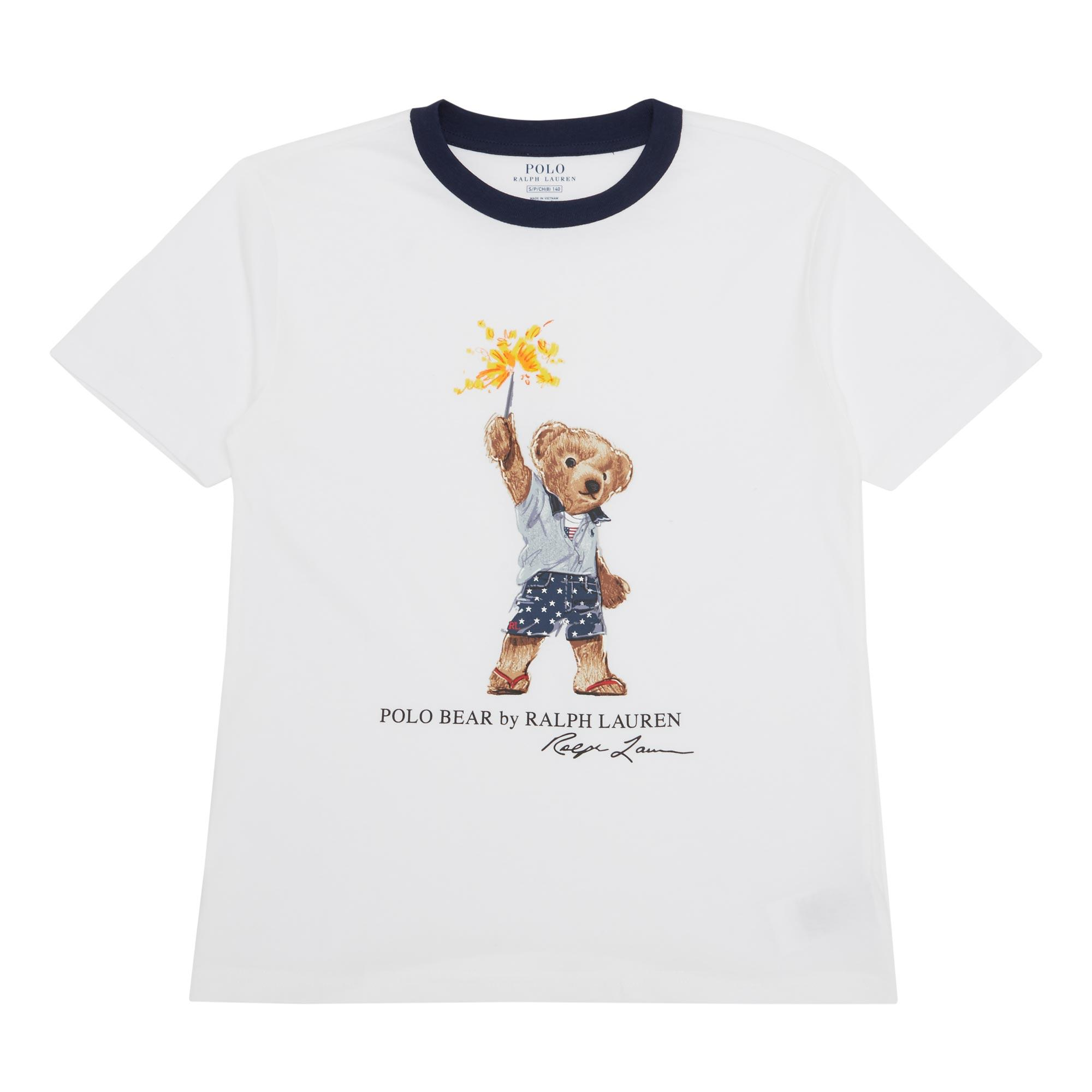 Sparkler Polo Bear T-Shirt