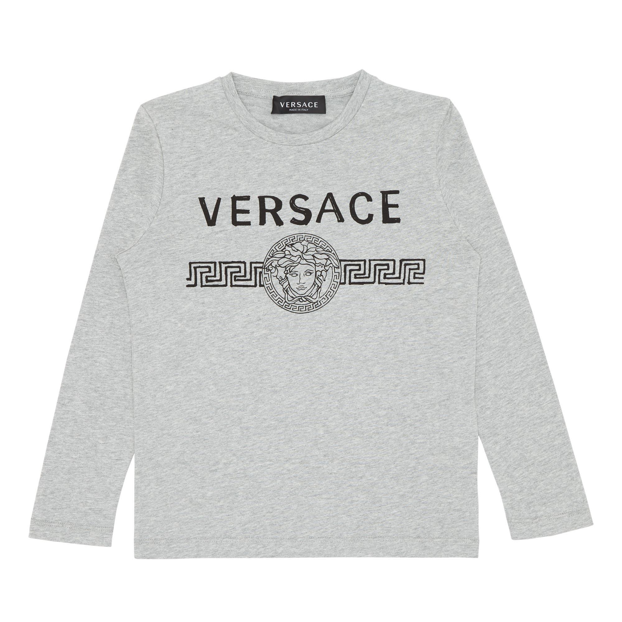 Long Sleeved Medusa T-Shirt
