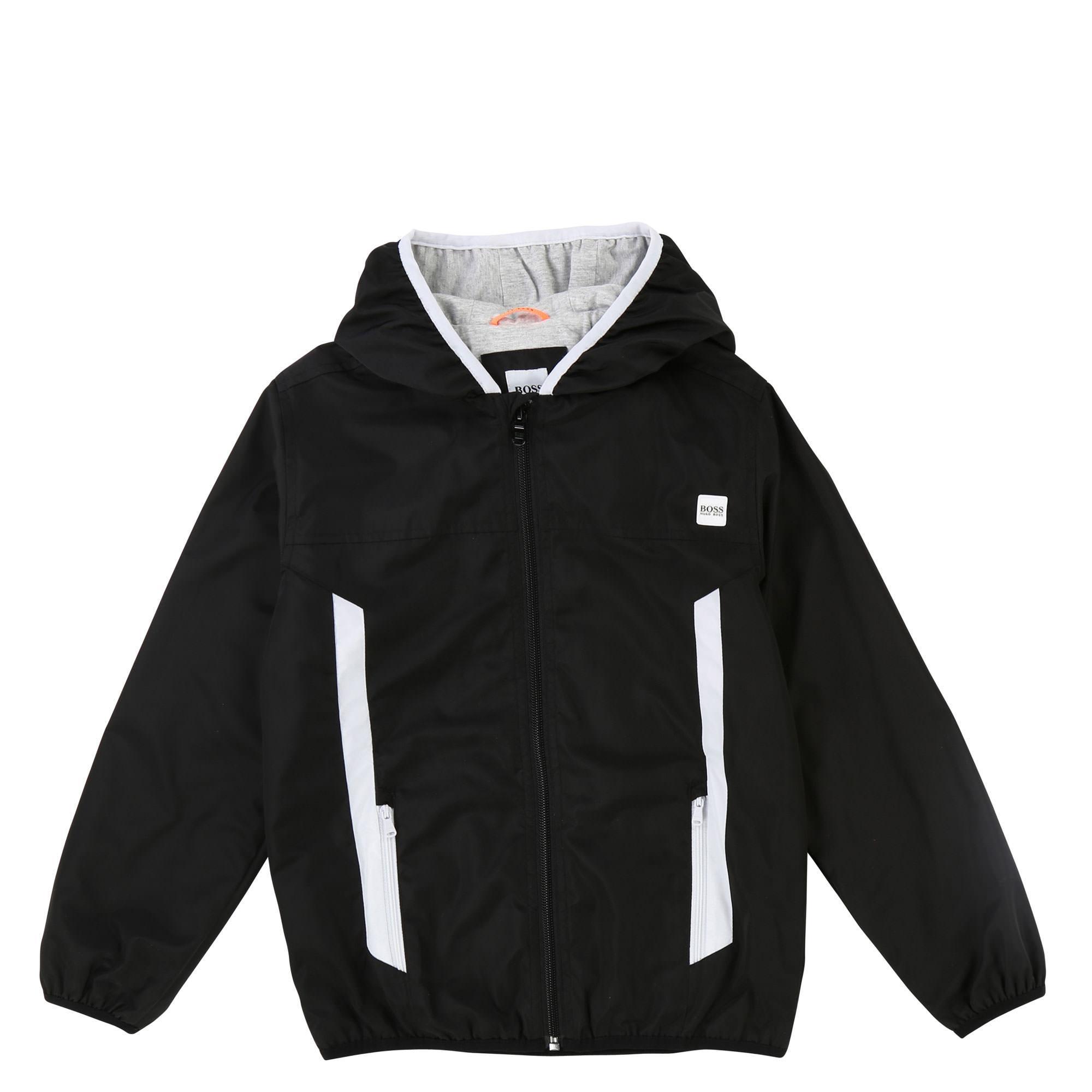 Zip-Through Hooded Jacket
