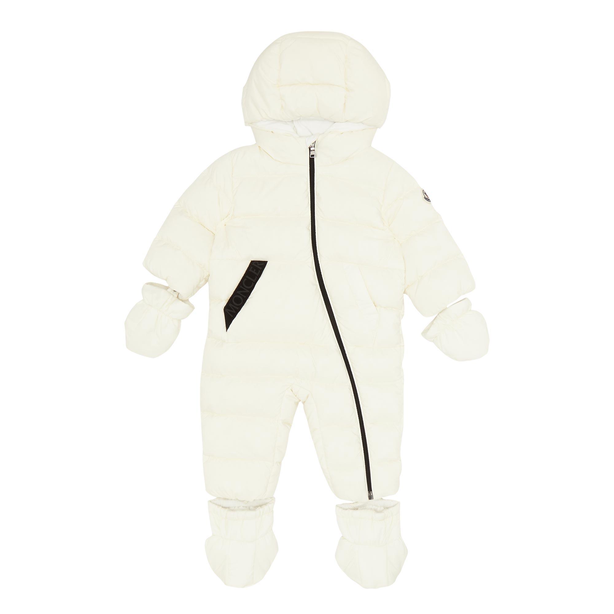 Asymmetric Zip Snow Suit
