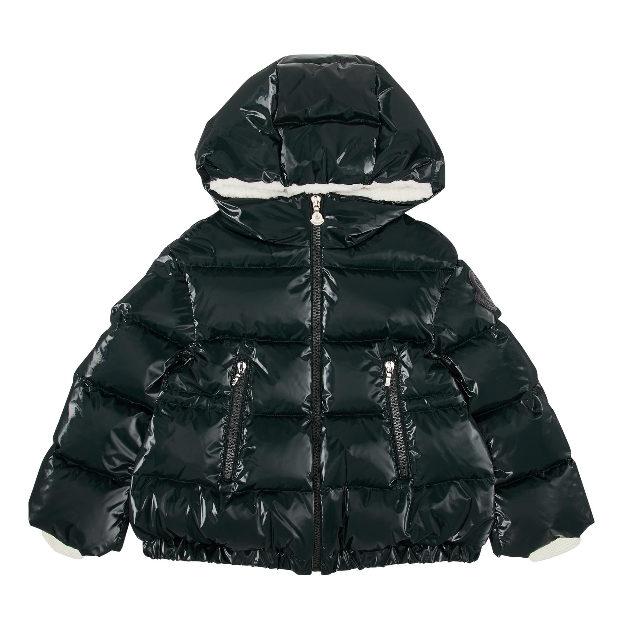 Clentra Glossy Puffer Coat