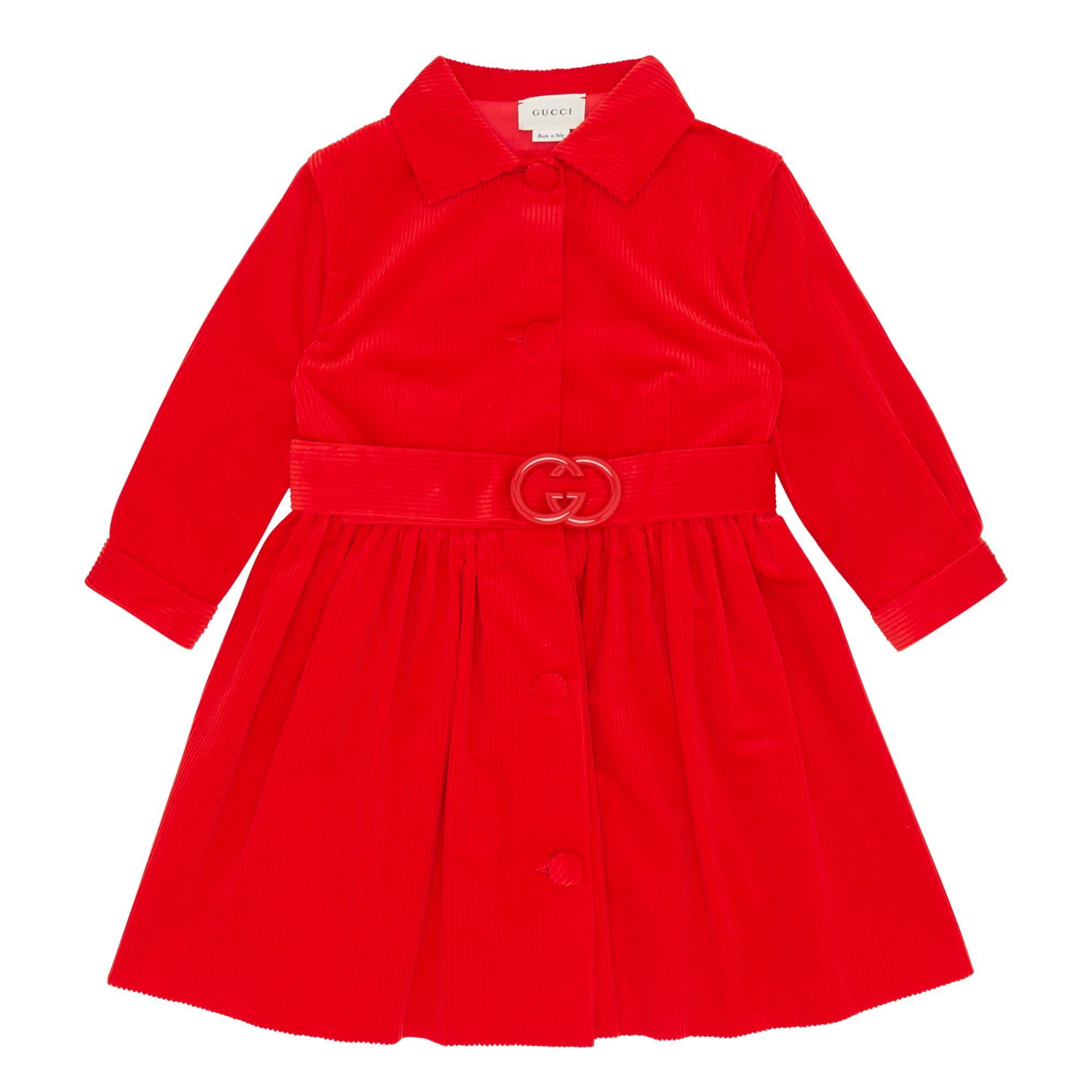 GG Belt Corduroy Coat