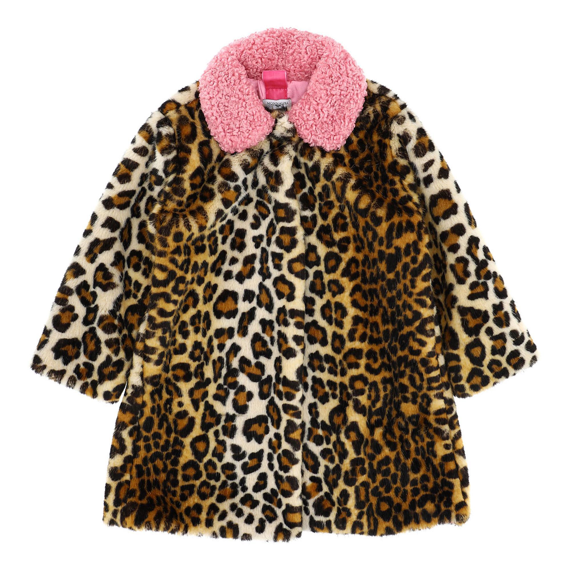 Faux Fur Animal Coat