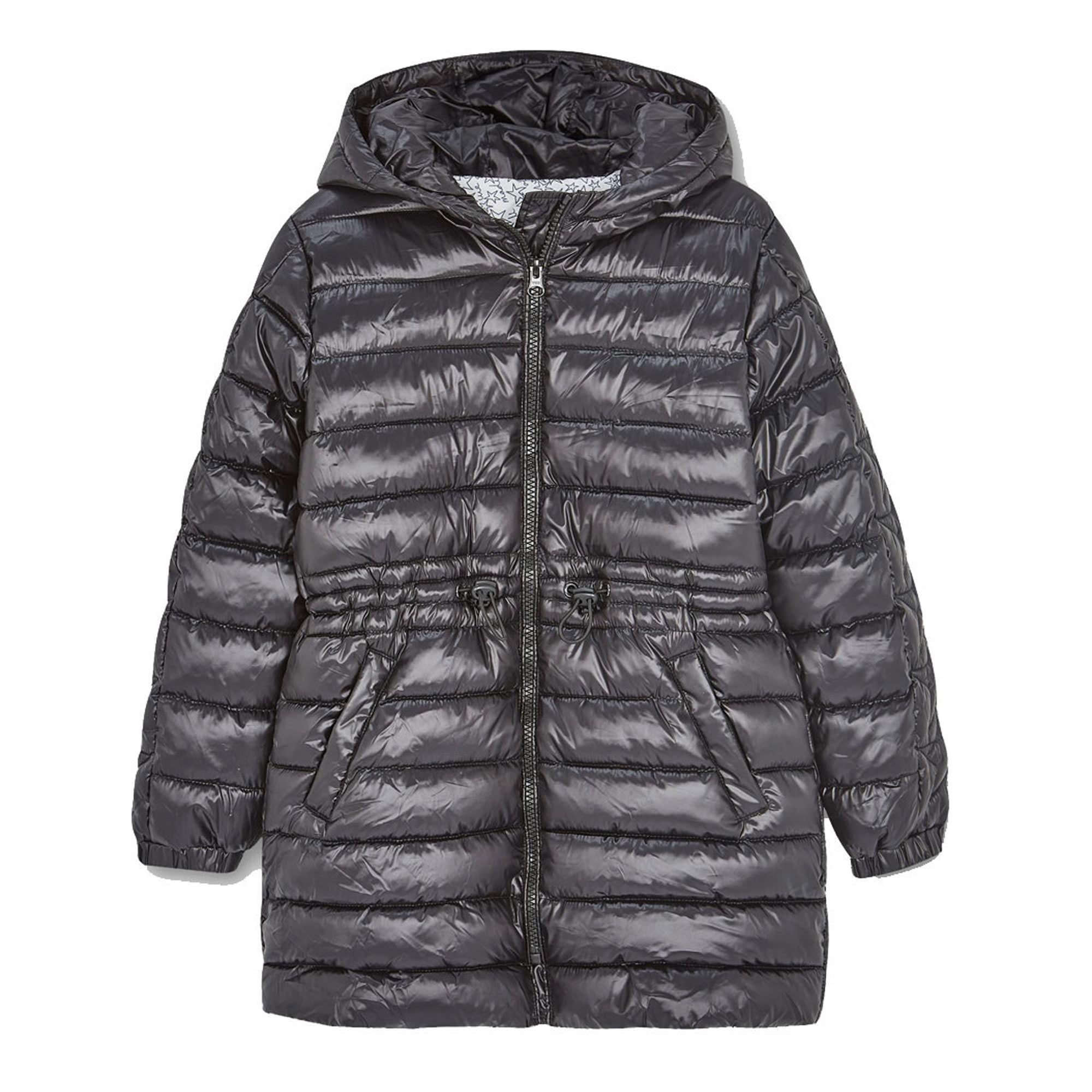 Long Hooded Padded Coat