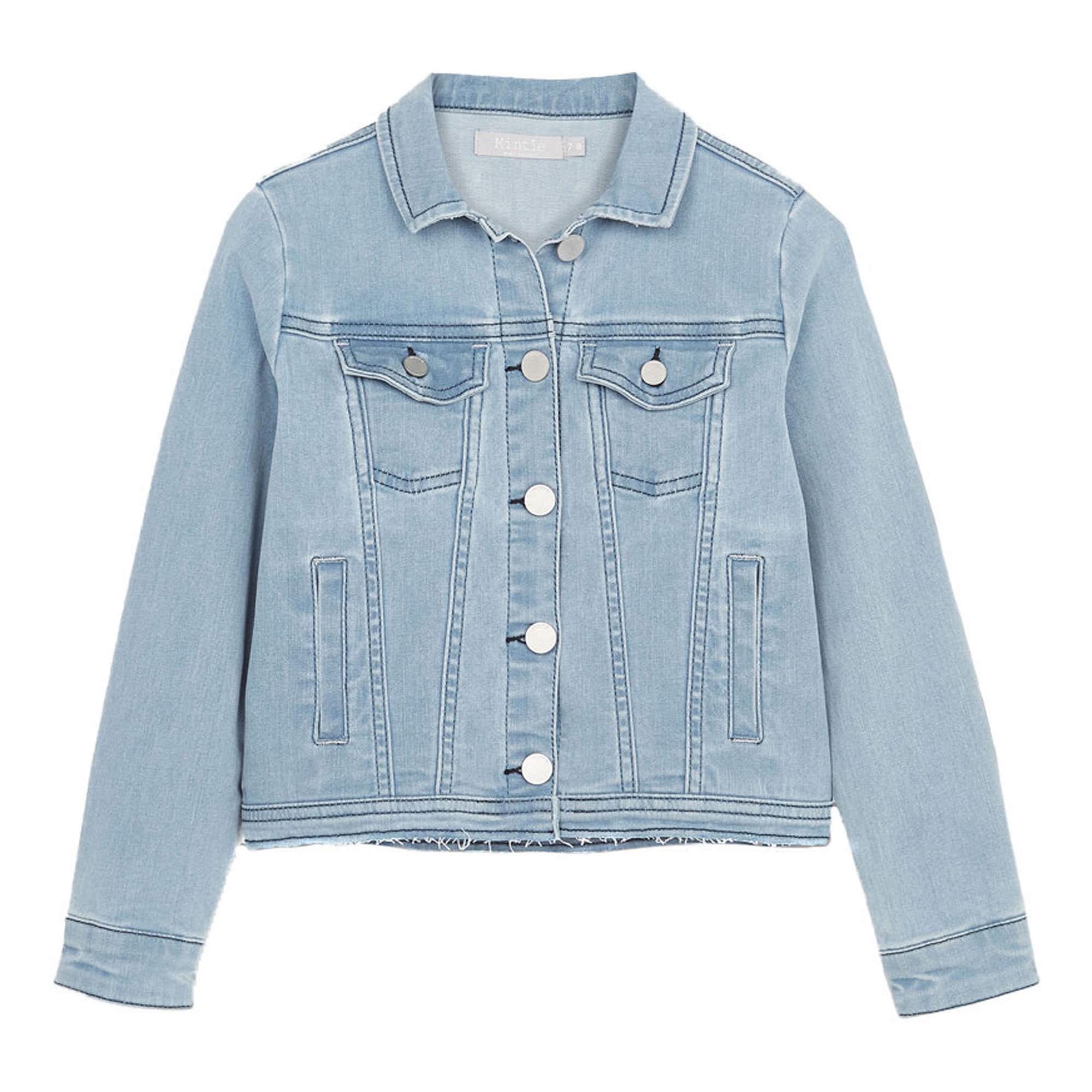 Washed Blue Denim Jacket