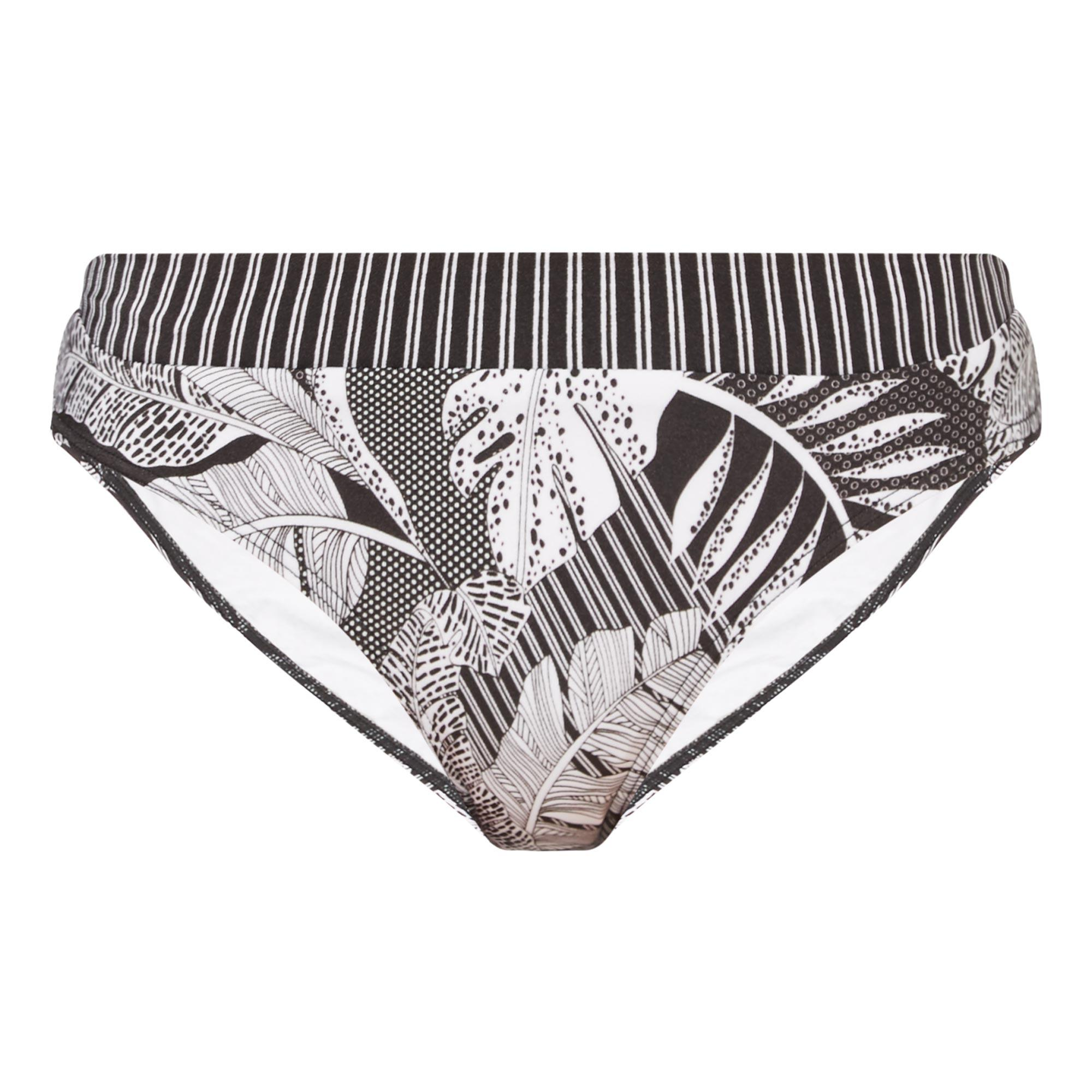 Tranquility Tropical Print Bikini Briefs