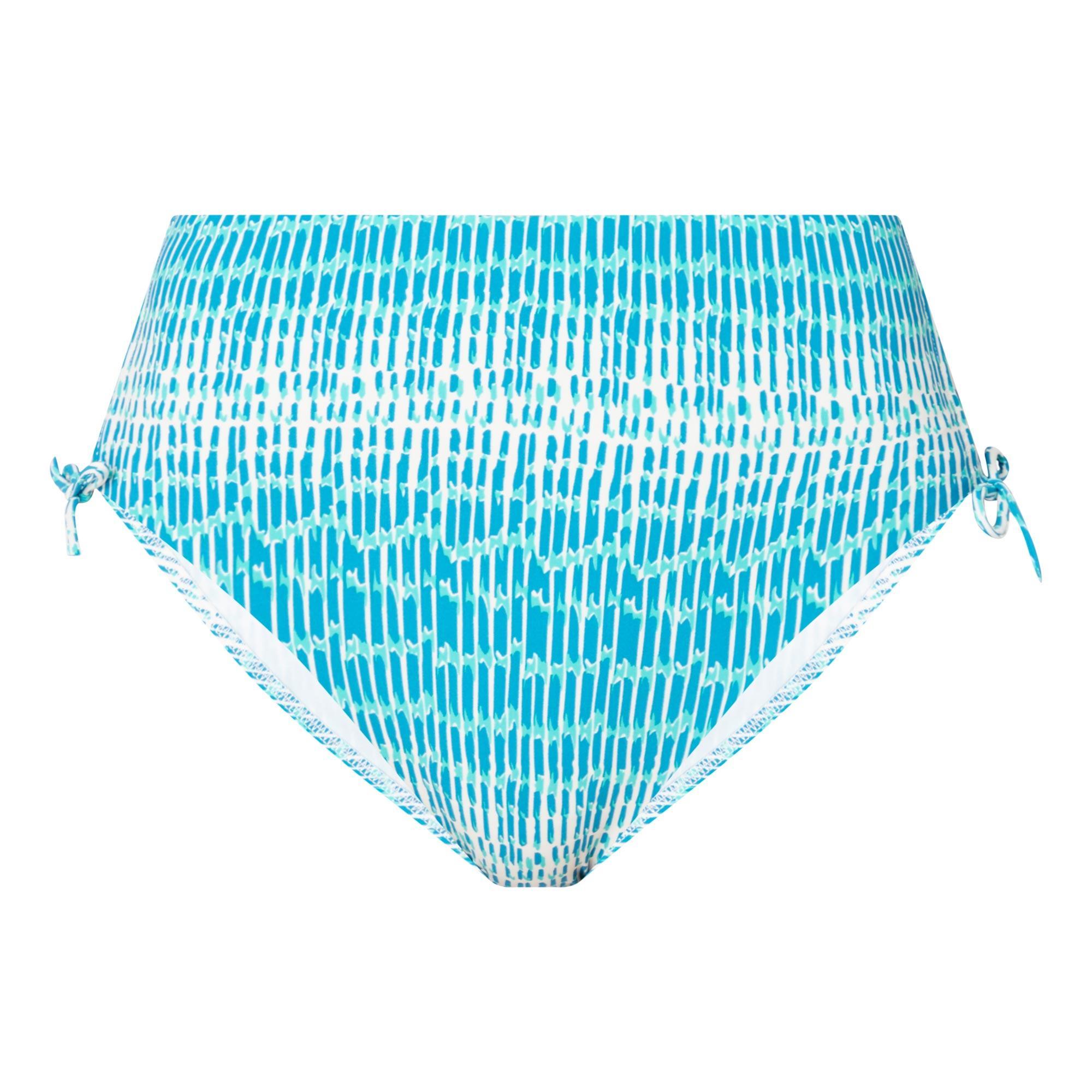 Shades Tie-Dye Print Bikini Briefs