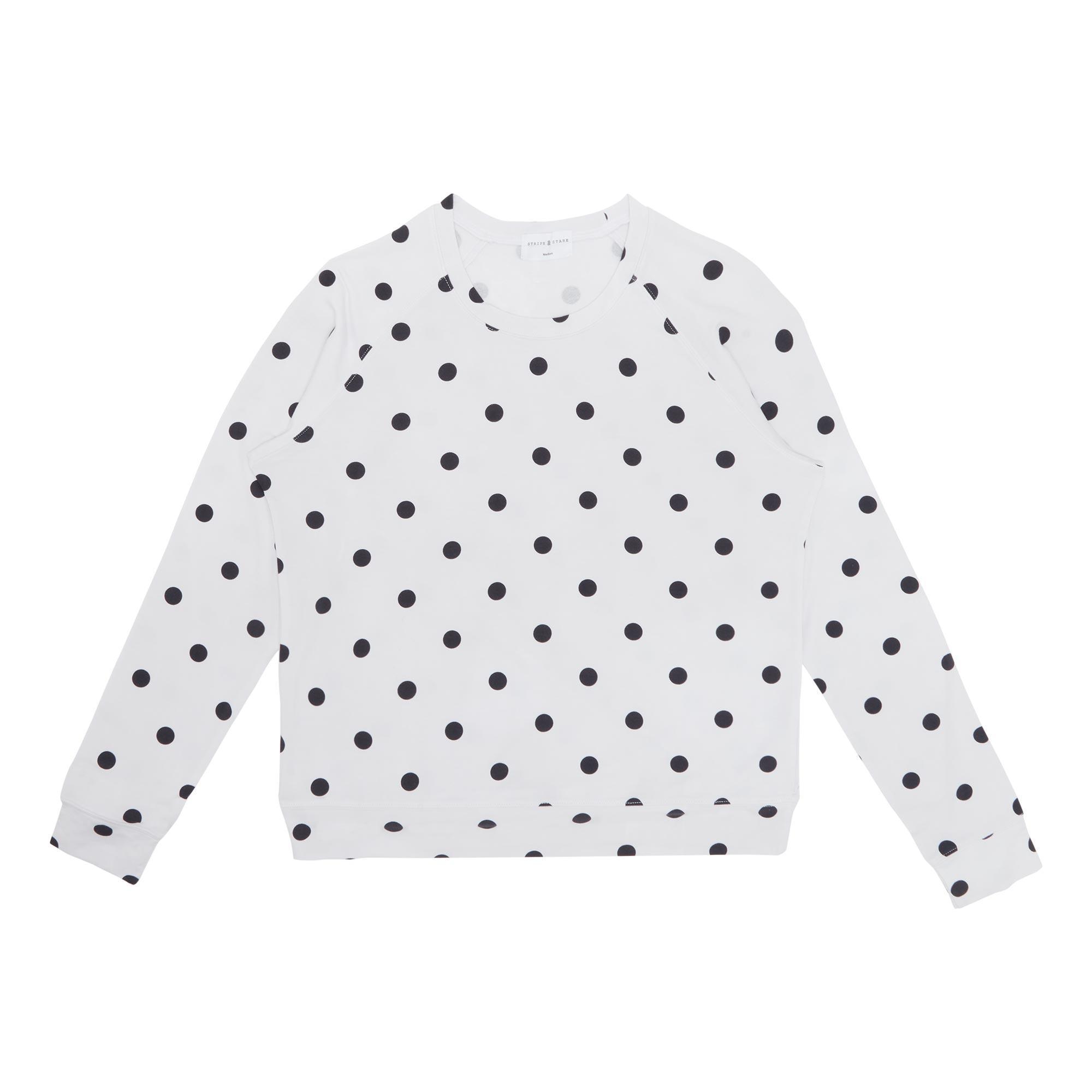 Polka-Dot Pyjama Top