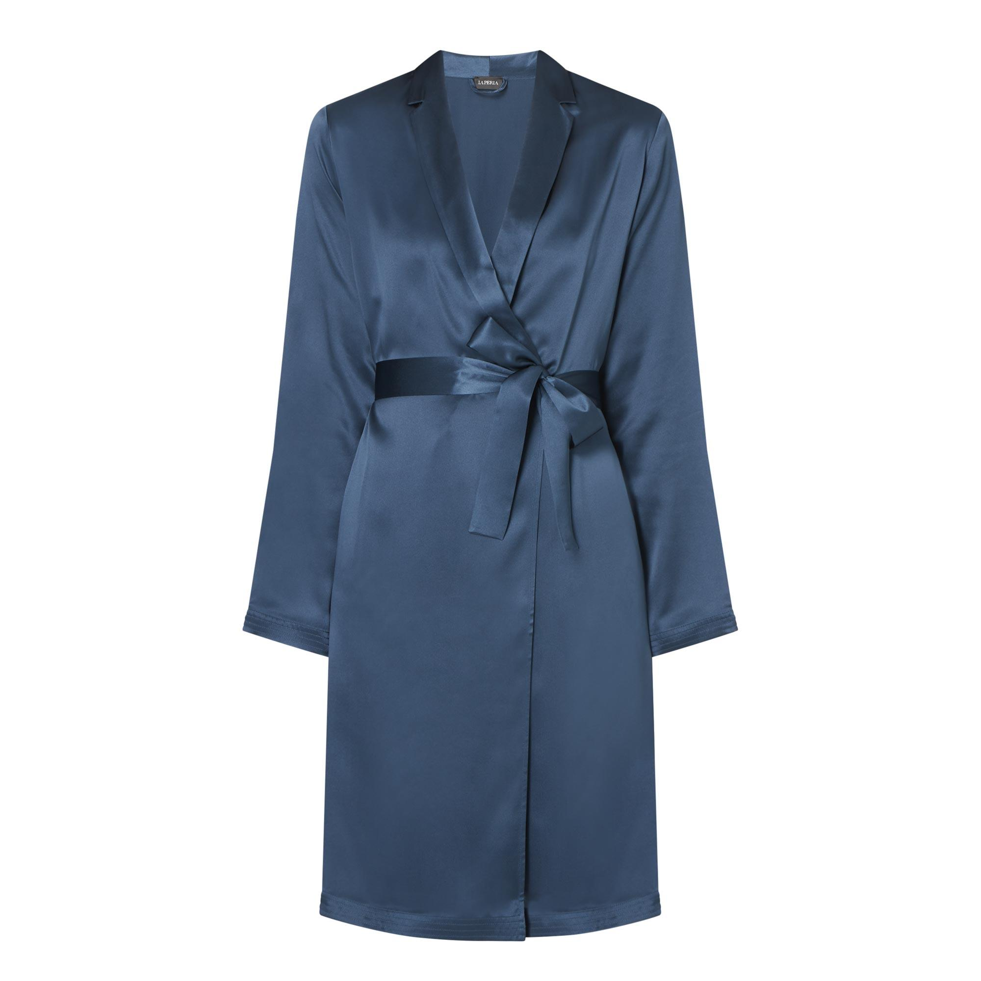 Belted Silk Dressing Gown
