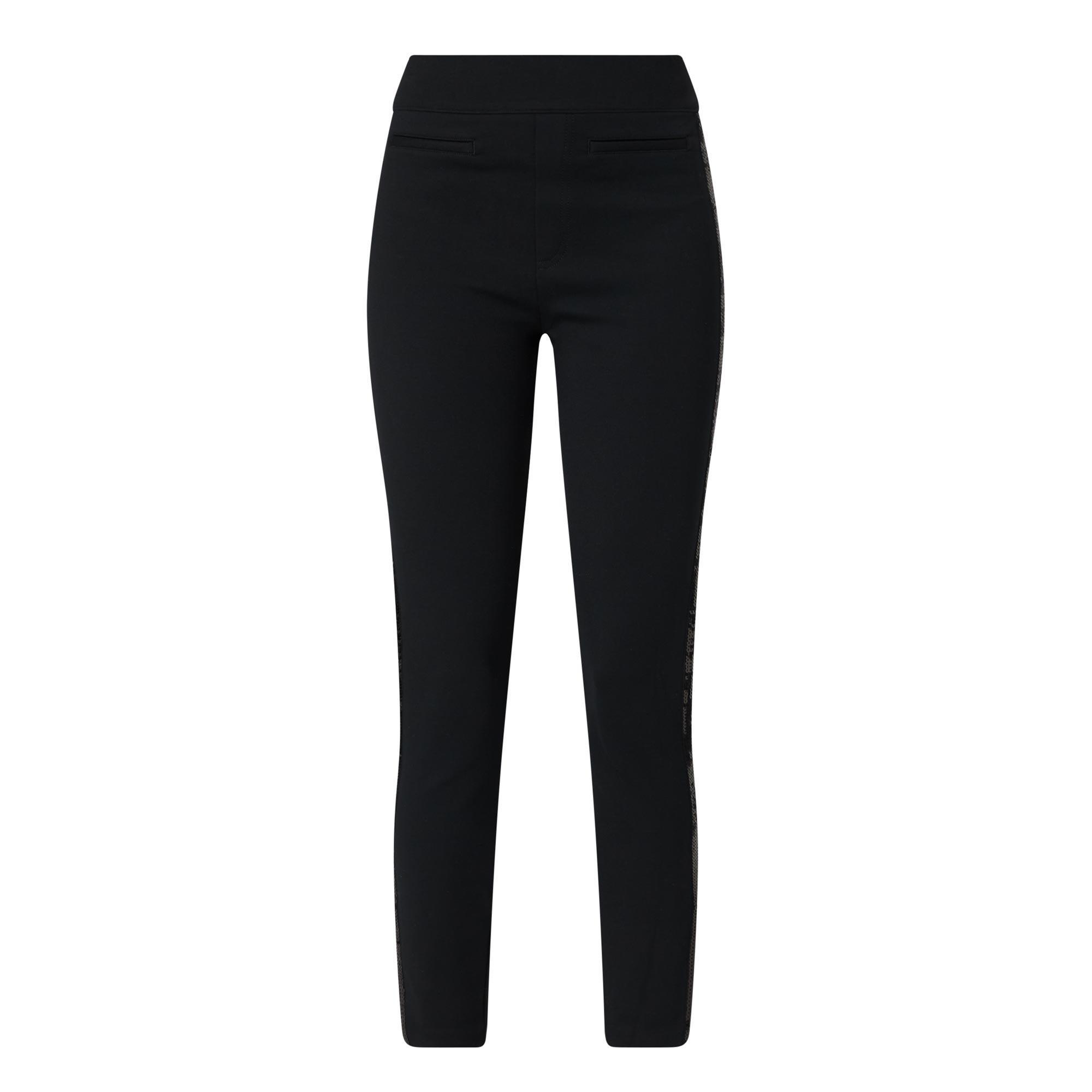 Sequin Trim Trousers
