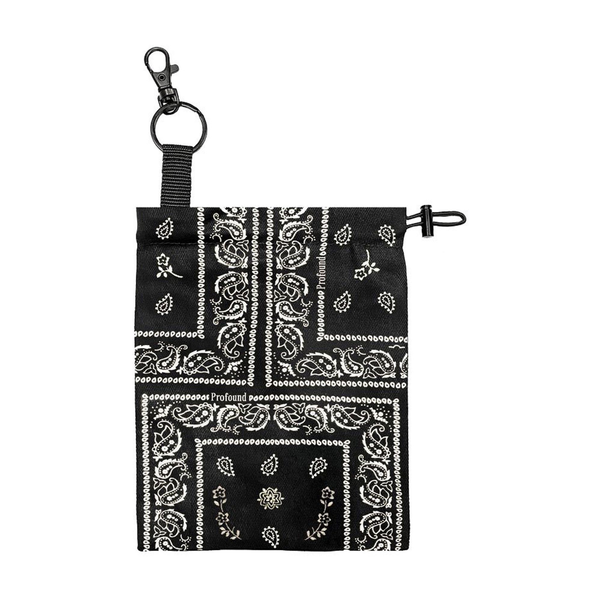 Paisley Mask Pouch