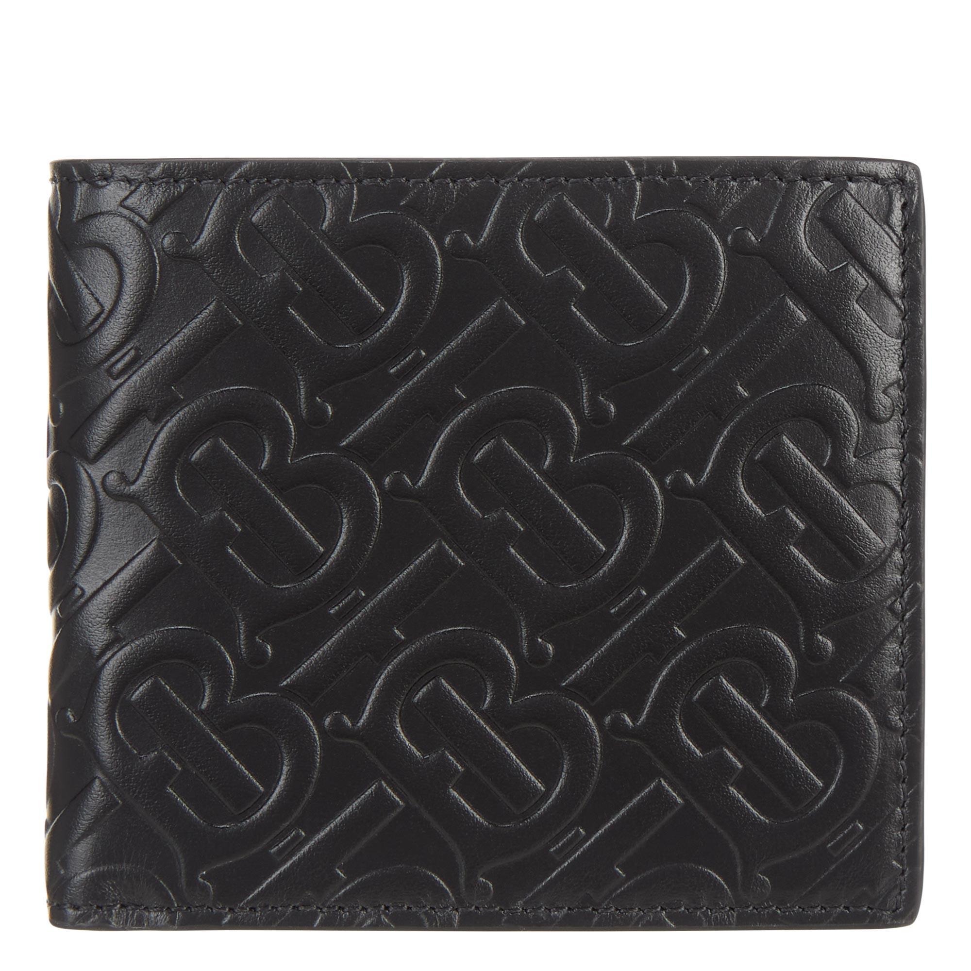 TB Monogram Leather Wallet