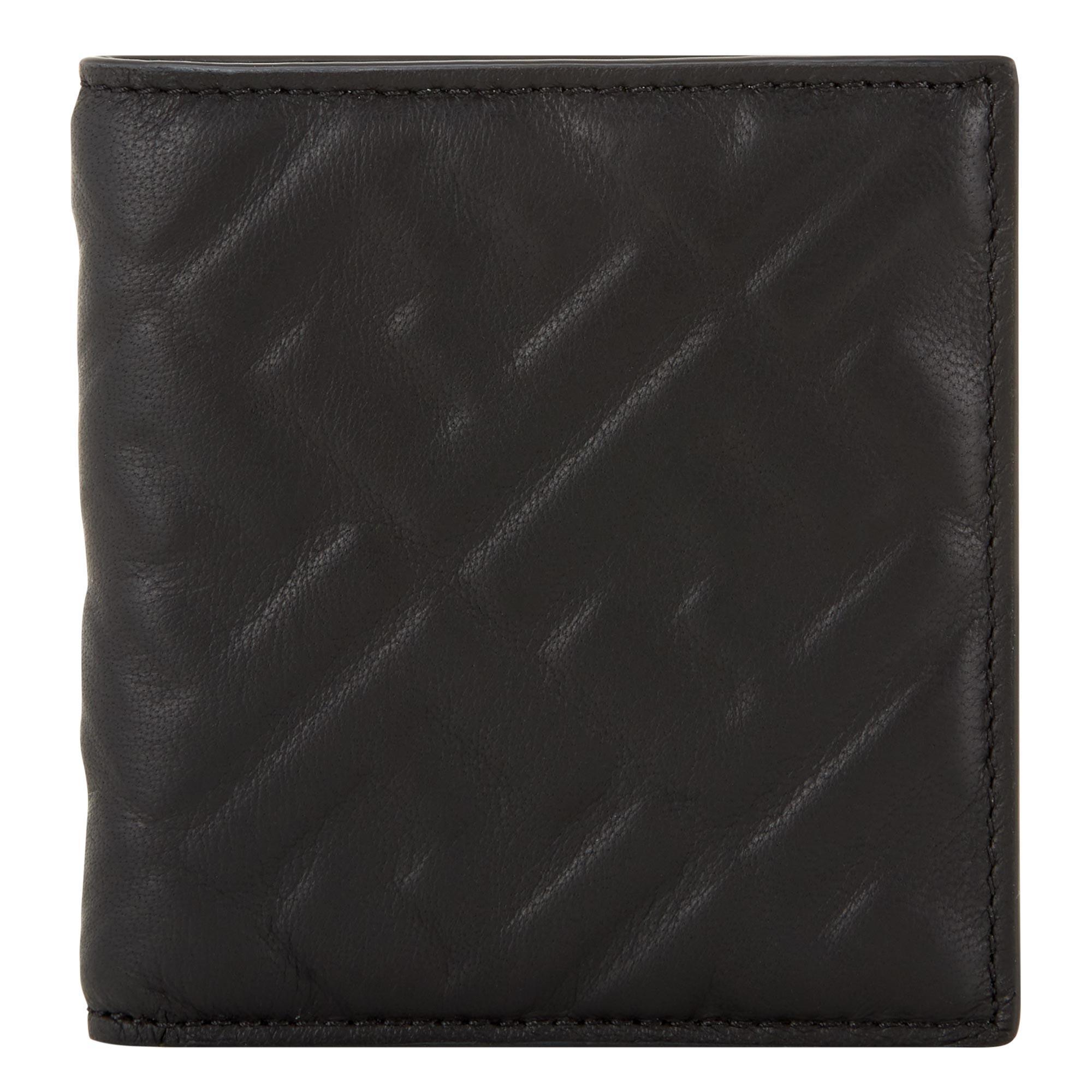 Logo Leather Bifold Wallet