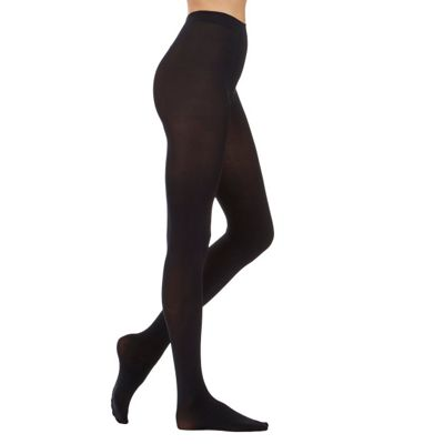 Black 80 Denier Opaque Tights Three Pack