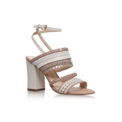 d0658ddb179 Nine West Natural  Baebee  high heel sandals