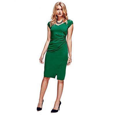 HotSquash Lawn Raglan Sleeve Dress in clever fabric