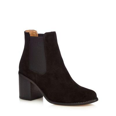 Faith Black 'Sadie' ankle boots