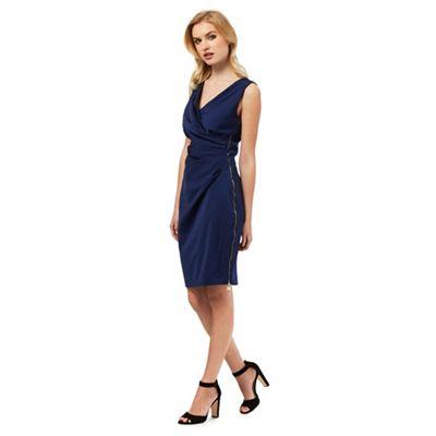 Lipsy Blue wrap dress