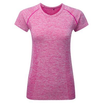 Tog 24 Berry marl fierce tcz stretch seamless t-shirt