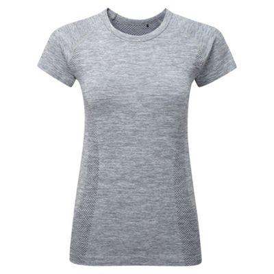 Tog 24 Dark grey marl fierce tcz stretch seamless t-shirt