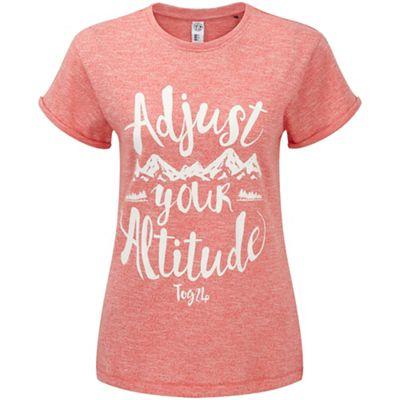 Tog 24 Coral marl brett t-shirt adjust print