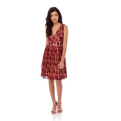 Yumi red YumiGreen Vintage Lace Dress