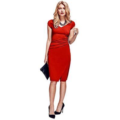 HotSquash Red Raglan Sleeve Dress in CoolFresh
