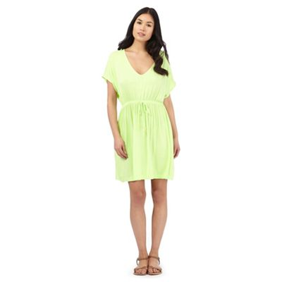 Beach Collection Lime jersey kaftan