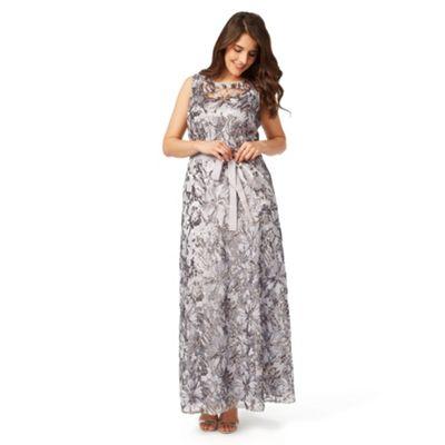 Studio 8 Sizes 12-26 Silver mercury dress