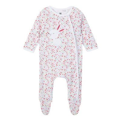 26c35568615b ... Ted Baker Price  Price. bluezoo Baby girls  multi-coloured bunny  applique sleepsuit