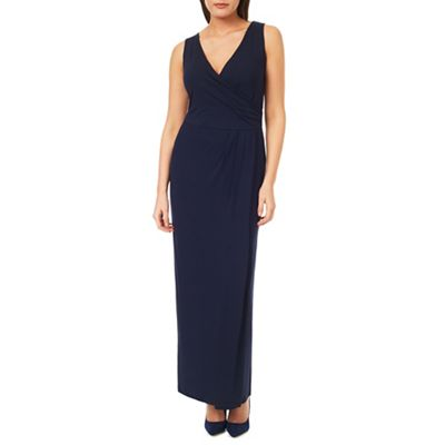 Windsmoor Navy Jersey Maxi Dress