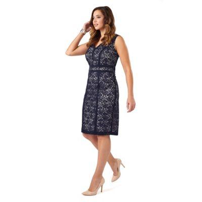 Studio 8 Navy antoinette dress