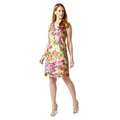 Studio 8 Sizes 12-26 Multi-coloured frieda dress