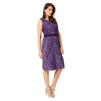 Studio 8 Sizes 12-26 Purple brooklyn dress