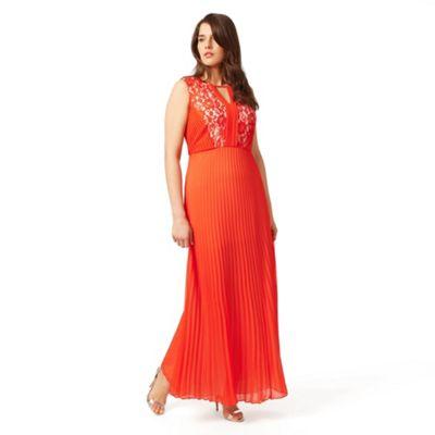 Studio 8 Sizes 12-26 Orange pomona dress