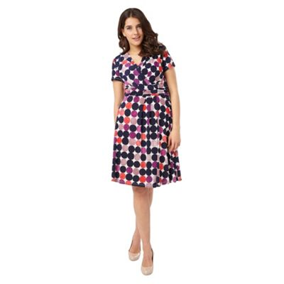 Studio 8 Sizes 12-26 Multi-coloured otto dress