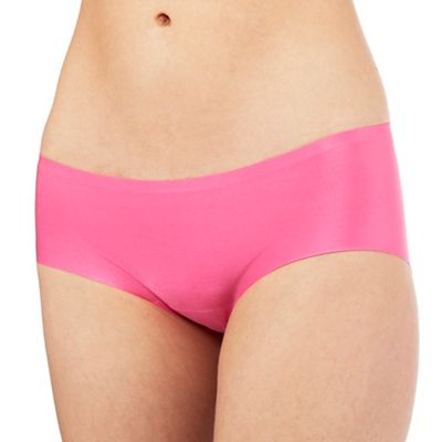 The Collection Bright pink seamless shorts