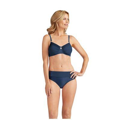 Amoena Dark blue 'Haiti' post-surgery bikini top