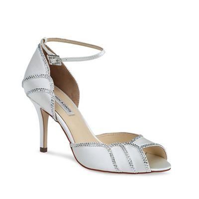 Benjamin Adams Peep toe packham scalloped sandal